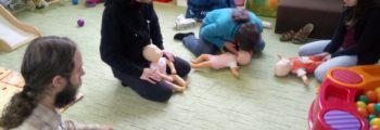 Kurz první pomoci u dětí ZdrSem. v Zastávce